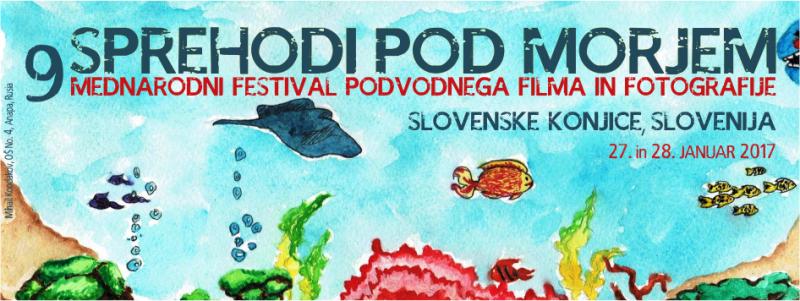 FESTIVAL Sprehodi pod morjem 2017